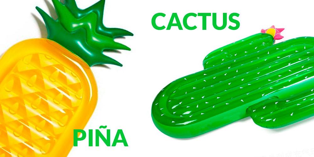 ¿Cactus o Piña?